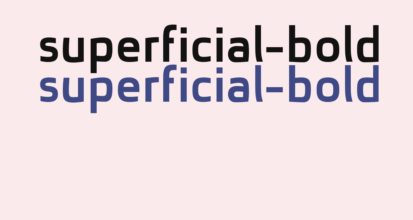 superficial-bold