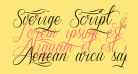 Sverige Script Decorated Demo