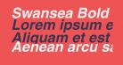 Swansea Bold Italic