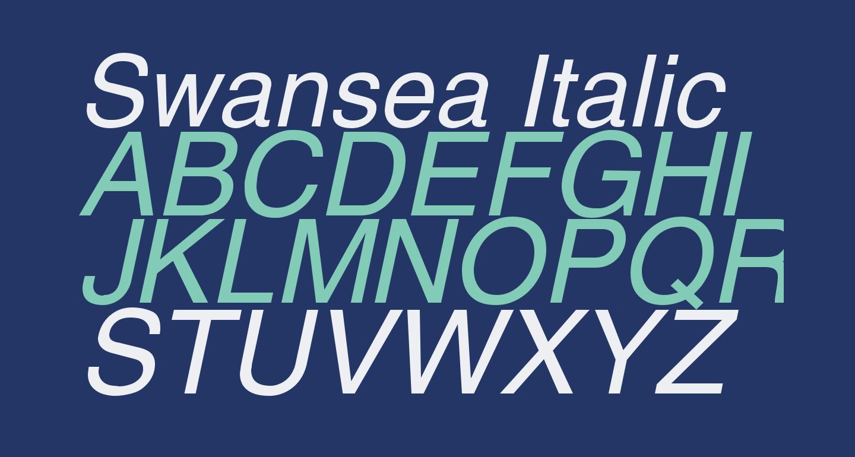 Swansea Italic