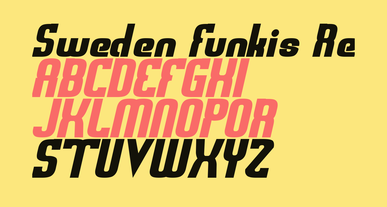 Sweden Funkis RegularOblique