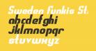 Sweden Funkis StraightOblique
