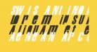 Swis AntiNormal Condensed Normal
