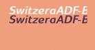 SwitzeraADF-BoldItalic
