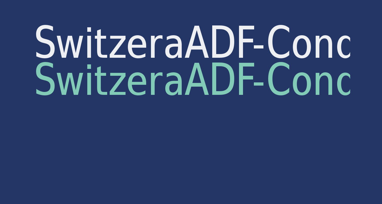 SwitzeraADF-Cond