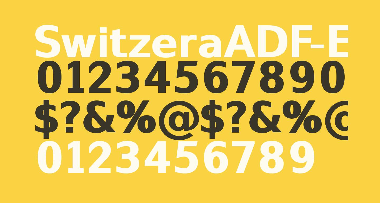 SwitzeraADF-ExtraBold