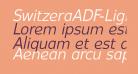 SwitzeraADF-LightItalic