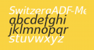 SwitzeraADF-MediumItalic