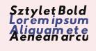 Sztylet Bold Oblique