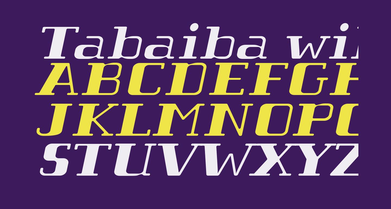 Tabaiba wild ffp Italic