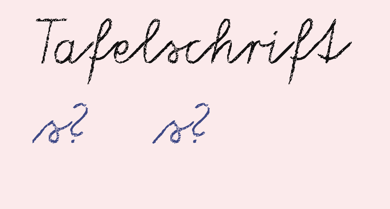 Tafelschrift