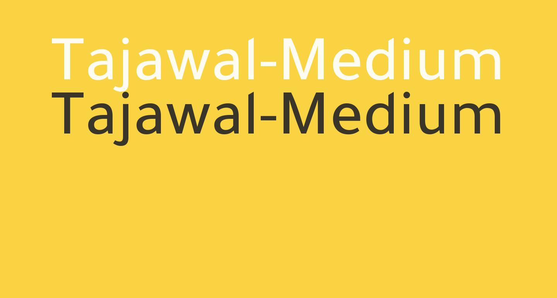 Tajawal-Medium