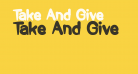 Take And Give
