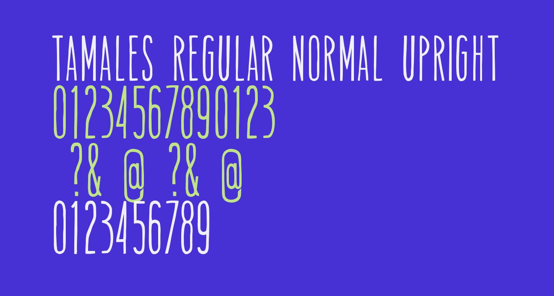 Tamales Regular Normal Upright