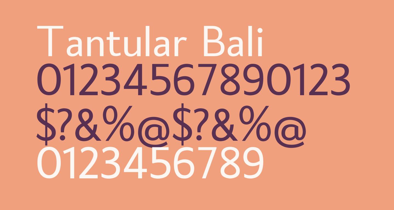 Tantular Bali
