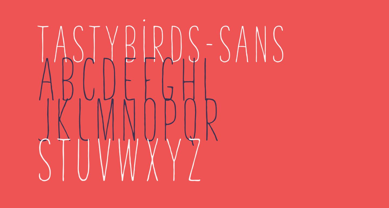 TastyBirds-Sans