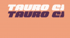 Tauro Expanded Italic