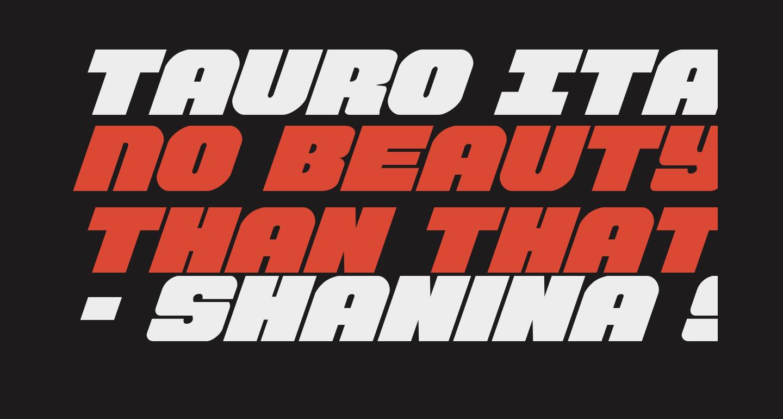 Tauro Italic