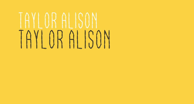 Taylor Alison