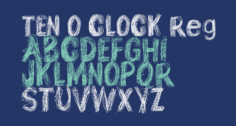 TEN O CLOCK Regular