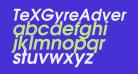 TeXGyreAdventor-BoldItalic