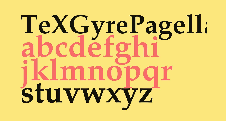 TeXGyrePagella-Bold