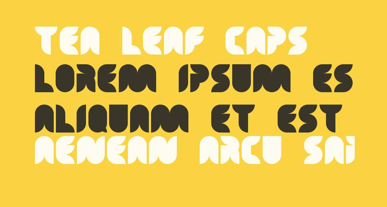 Tea Leaf Caps