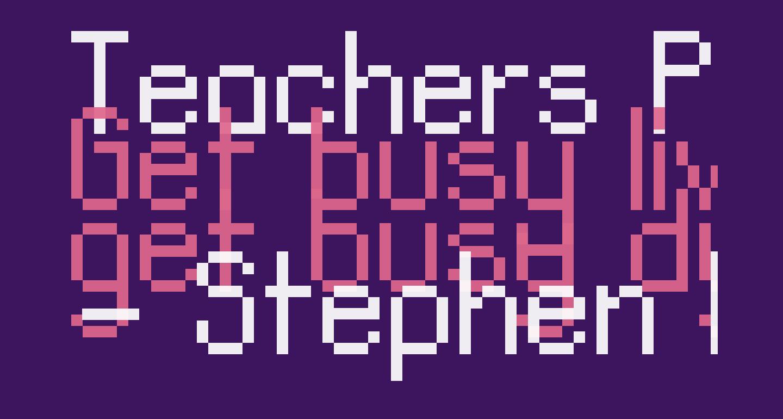 Teachers Pet Sans Serif