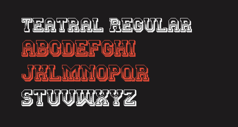 Teatral Regular