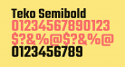 Teko Semibold