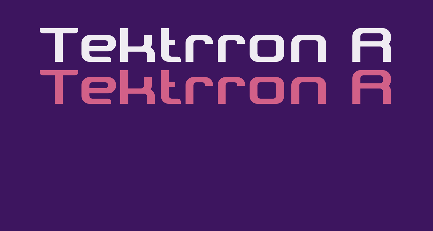 Tektrron Regular