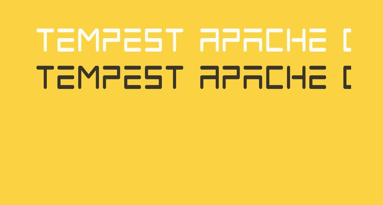 Tempest Apache Condensed