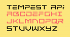 Tempest Apache Expanded