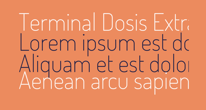 Terminal Dosis ExtraLight