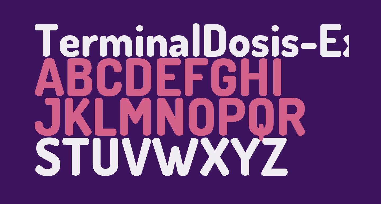 TerminalDosis-ExtraBold
