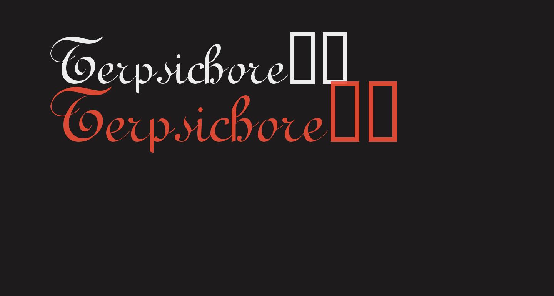 Terpsichore!'