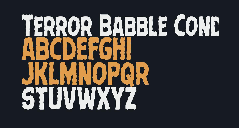 Terror Babble Condensed