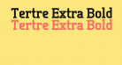 Tertre Extra Bold