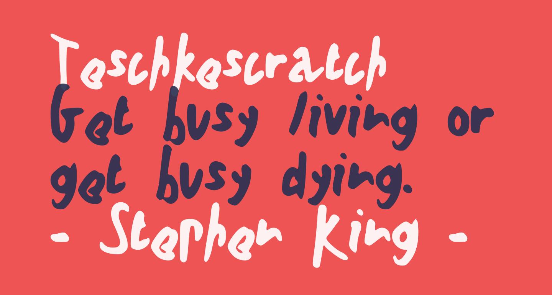 Teschkescratch