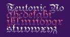 Teutonic No3 DemiBold