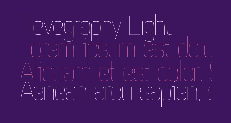 Tevegraphy Light