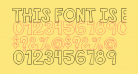 THIS FONT IS EMPTY1 Bold