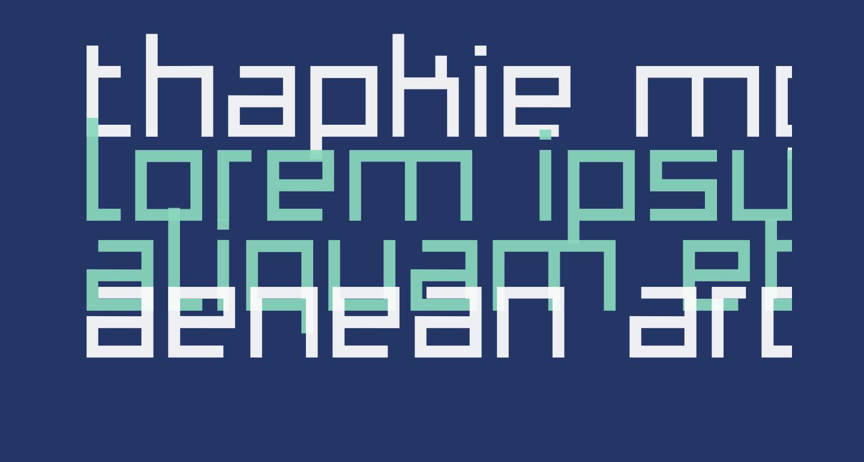 Thapkie MG