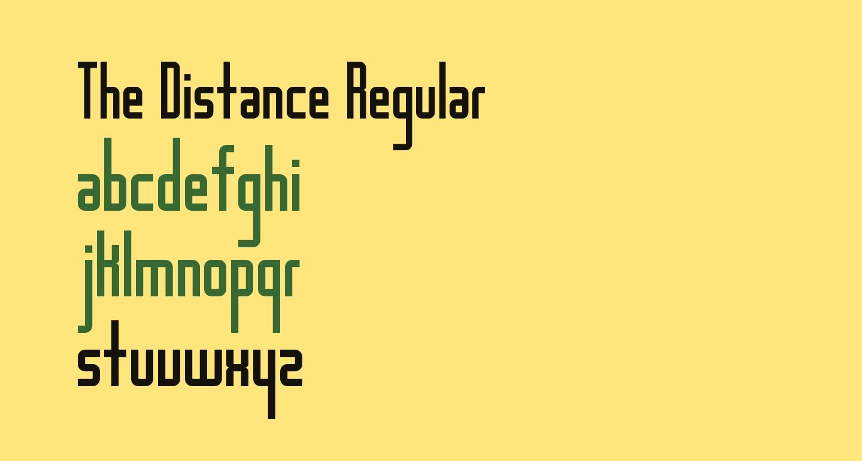 The Distance Regular