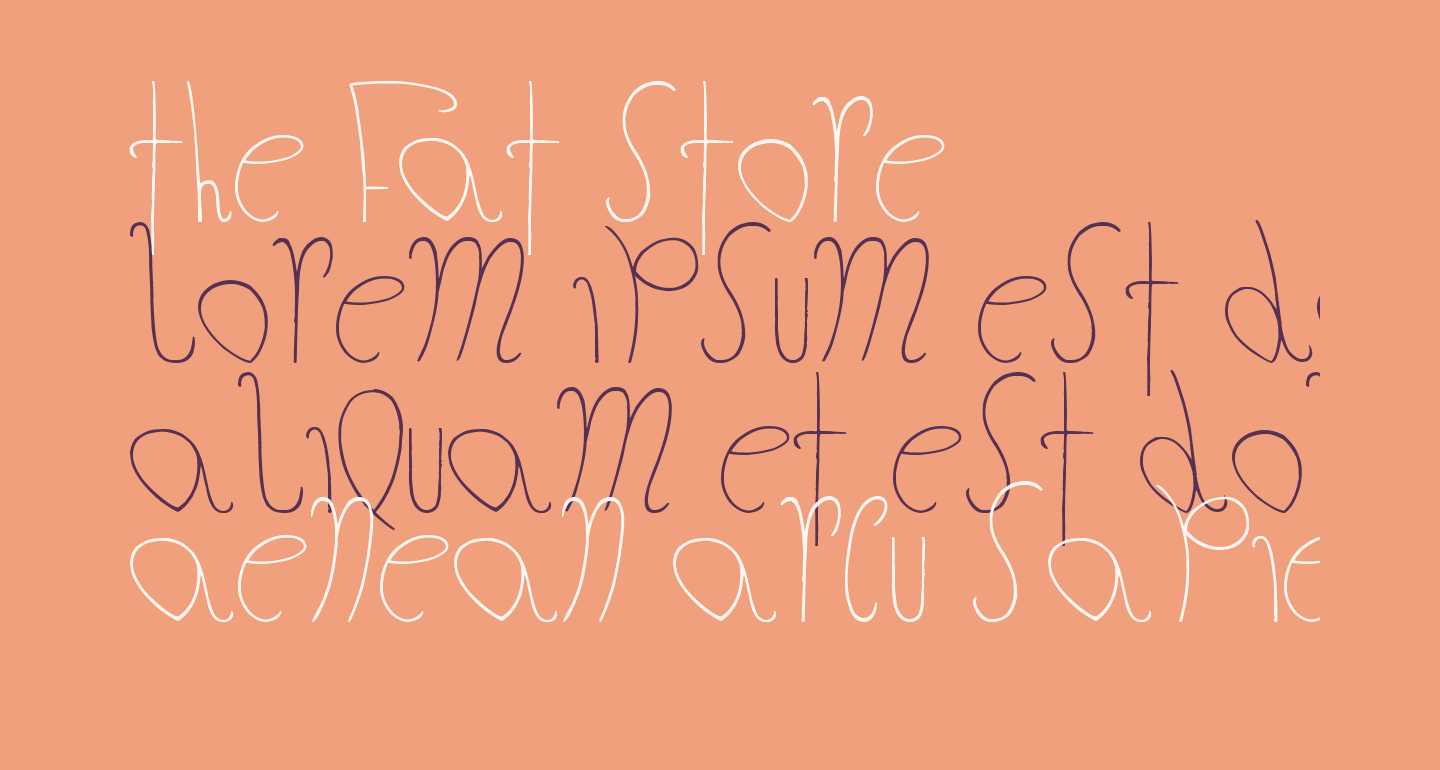 The Fat Store