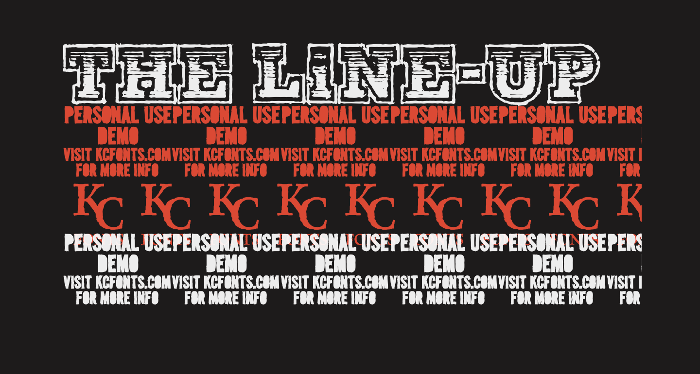 The Line-Up