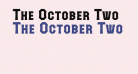 The October Two