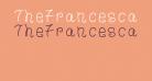 TheFrancescaFont