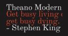 Theano Modern Regular