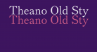Theano Old Style Regular